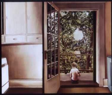 Painting by Christiane Pflug