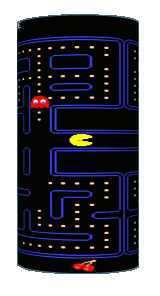 Pac-Man Cylinder