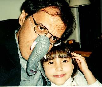 John Kessel and daughter Emma