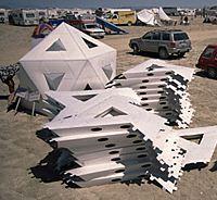Ponder icosahedral shelter