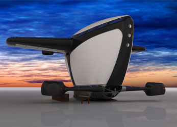 """AirShipOne"" by Gosha Galitsky"