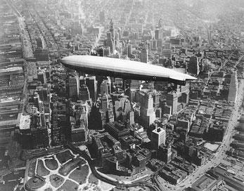 USS Los Angeles airship