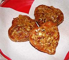 German chocolate scones