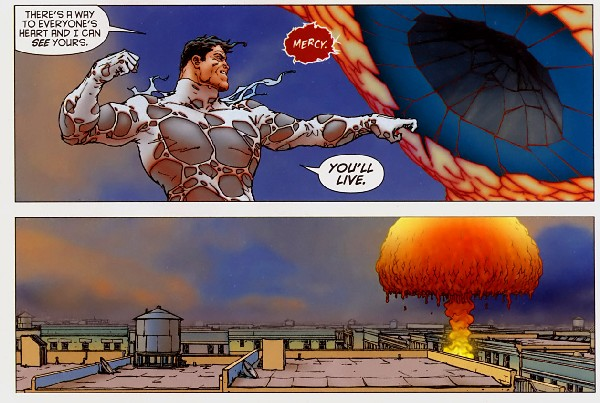 Superman fights Solaris, page 20