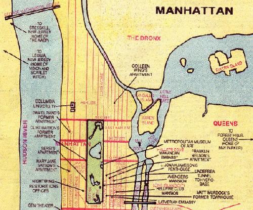 Where Is Superman's Metropolis?