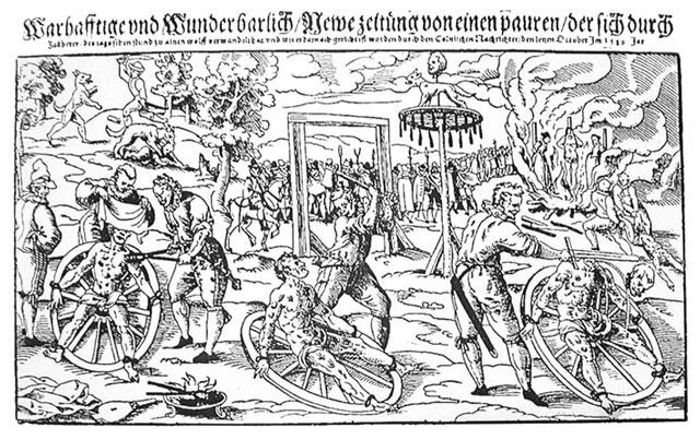 Execution of Peter Stumpp, 1589