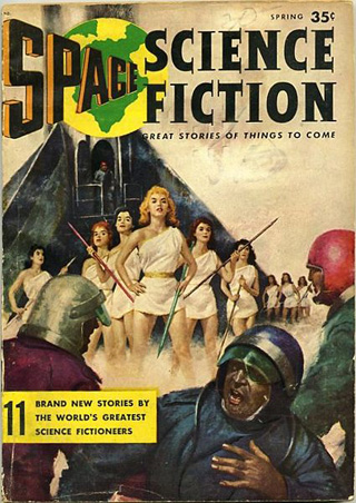 Cover of Space Science Fiction