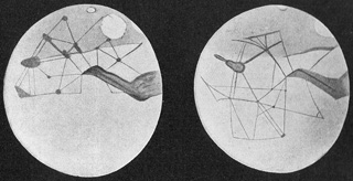 Lowell's Martian Channels, prior to 1914.