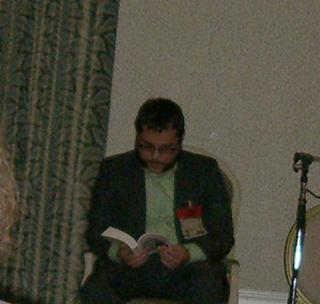 Jesse Bullington reading at WFC