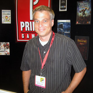 Aaron from Prima Games