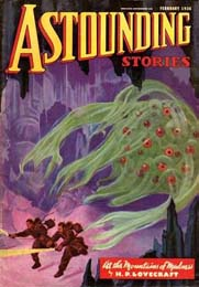 Astounding Stories with At The Mountains of Madness