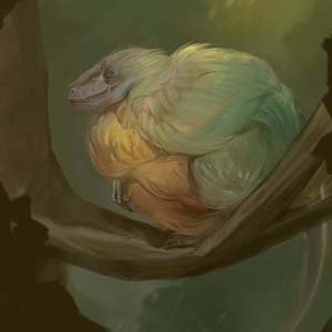 Bird Raptor by Vlada Monakhova