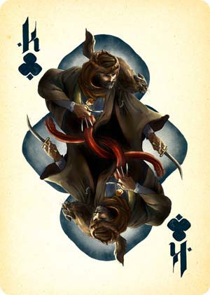 2015 Rachel Kahn 'The King of Clubs'