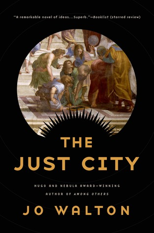 The book cover of The Just City