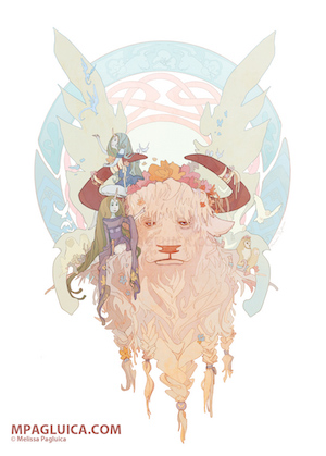 2015 Melissa Pagluica, 'Spring Bull'